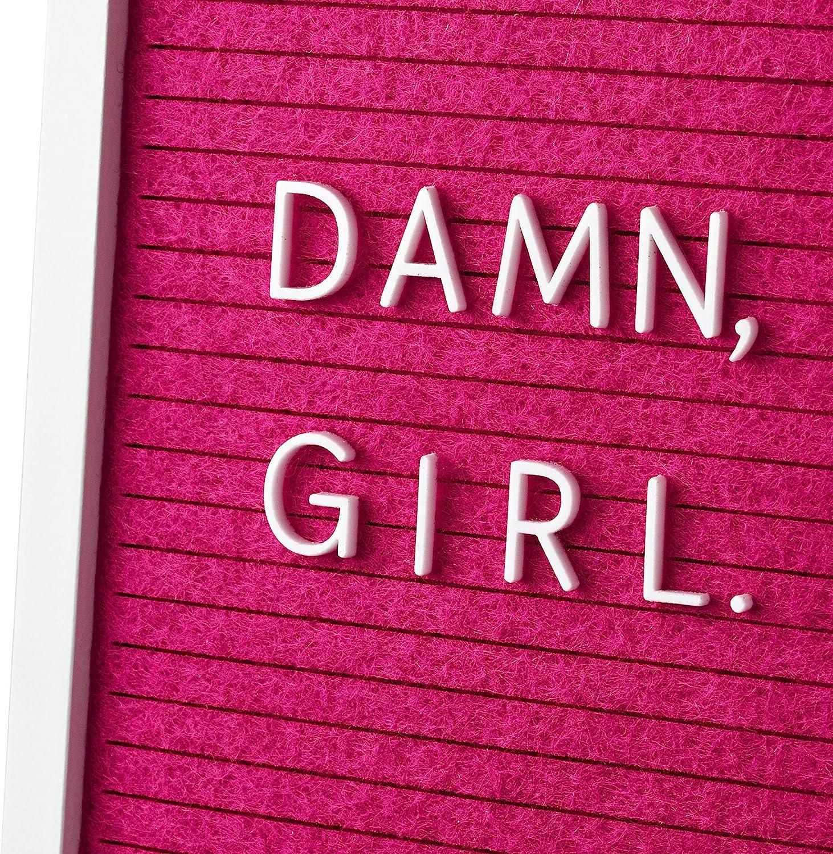 Hallmark Signature Birthday Card for Women Damn, Girl Letter Board