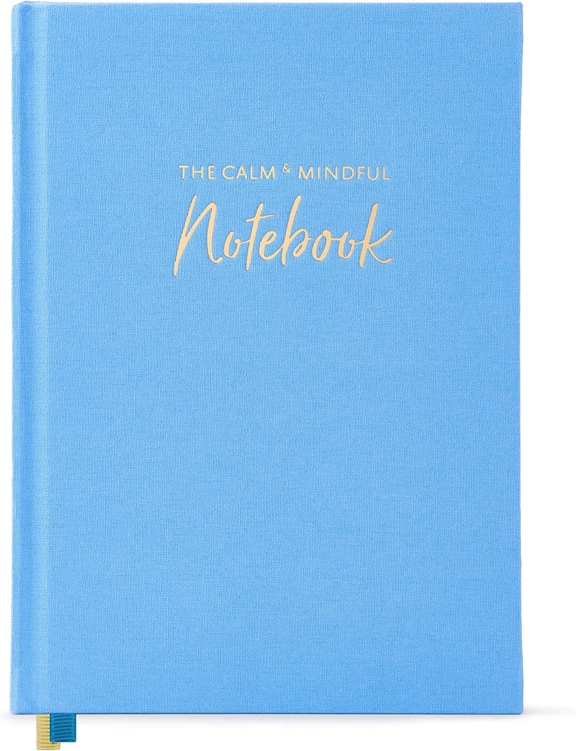 "The Calm & Mindful Notebook – Guided Mindfulness and Self Care Journal with Writing Prompts – 252 Hardbound Pages Promote Self Kindness, Meditation, Stress Relief and Gratitude (8.5"" x 6"")"