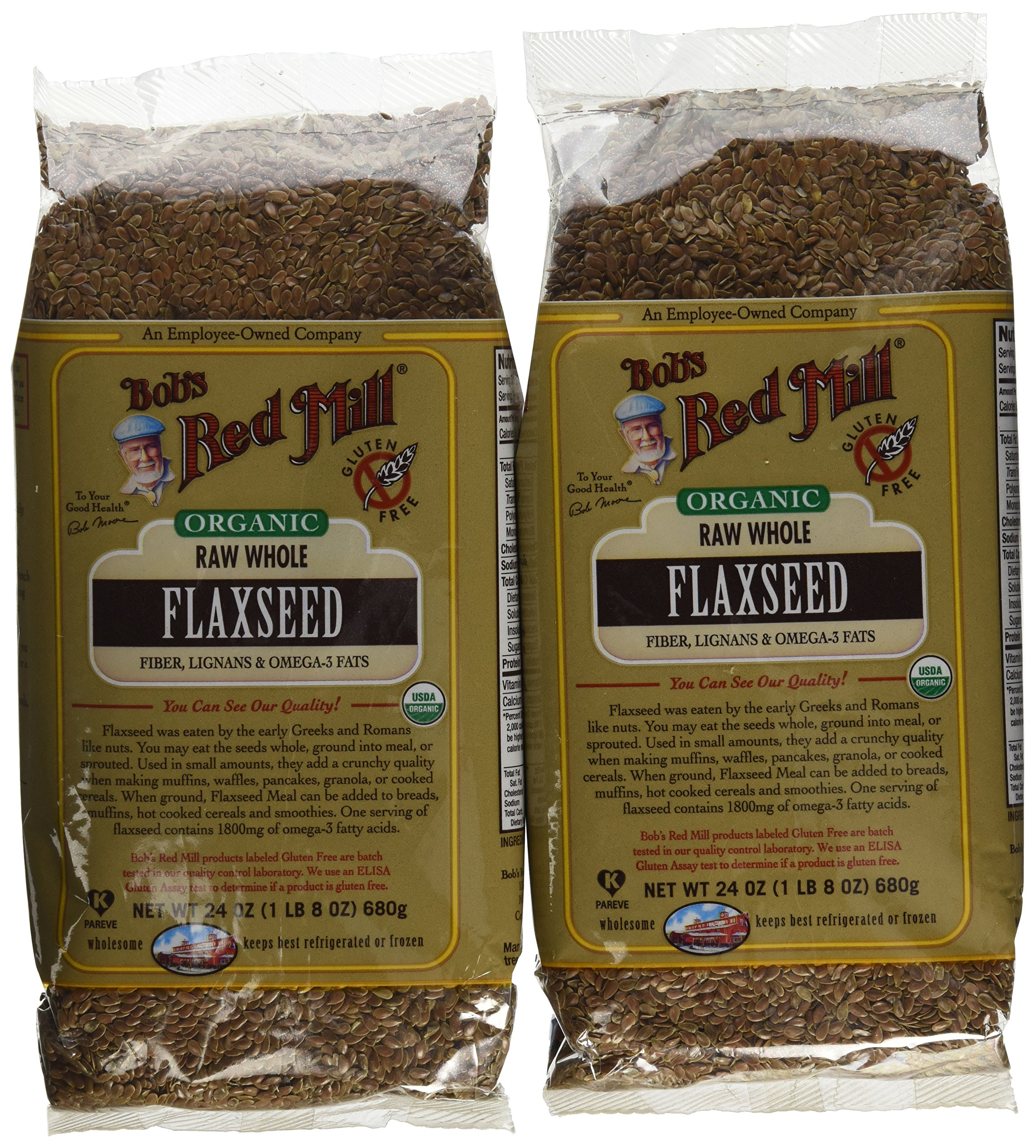 Brown Flaxseed 24 Ounces (Case of 4)