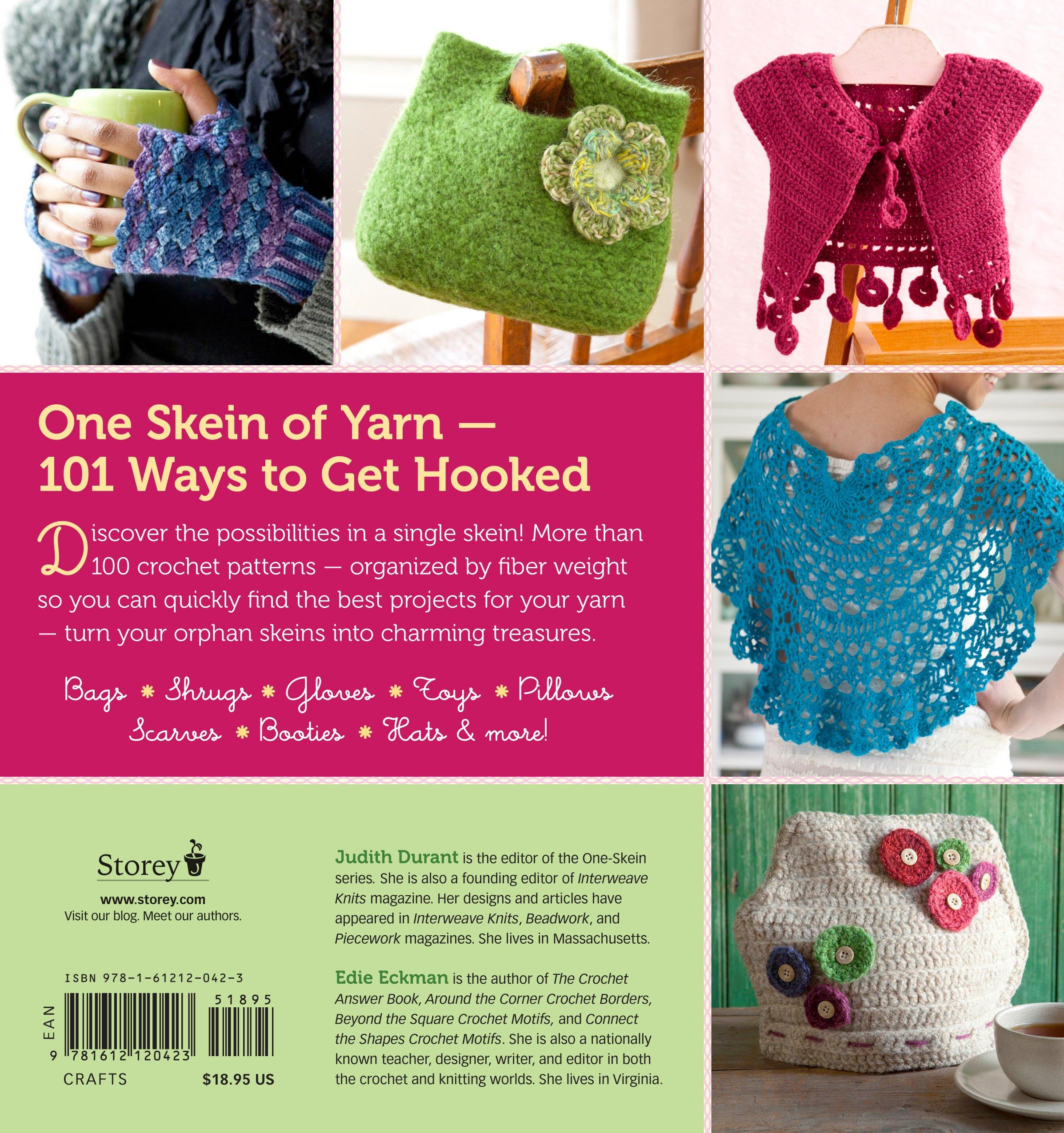Amazon Crochet One Skein Wonders 101 Projects From Crocheters