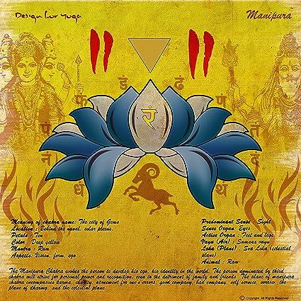 Amazon.com: Satyakam Sharma Manipura Chakra Premium Yoga ...
