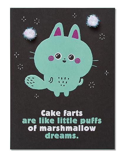 Amazon American Greetings Funny Marshmallow Dreams Birthday
