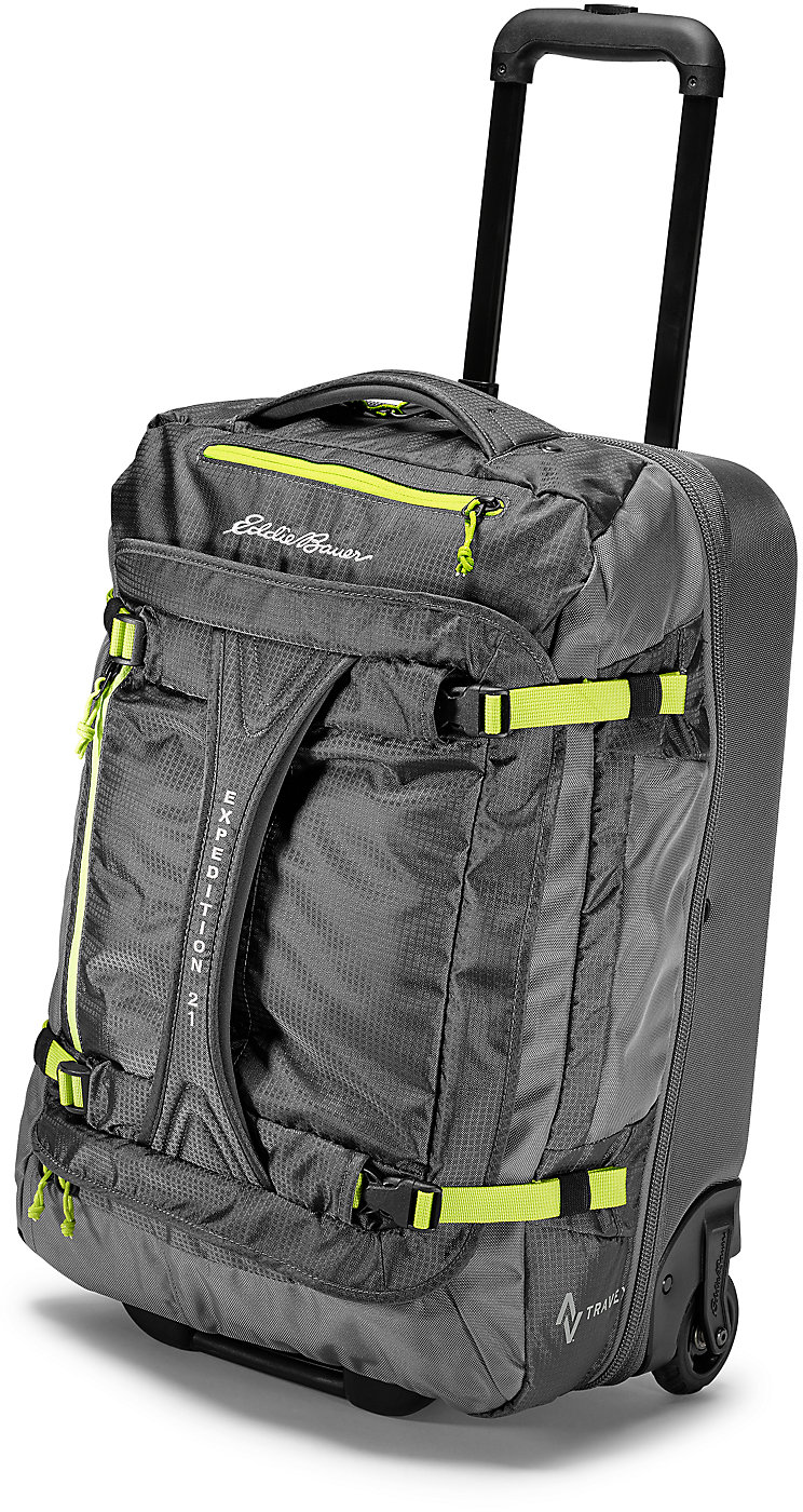 Drop Bottom Rolling Duffel - Medium | Color: Cinder