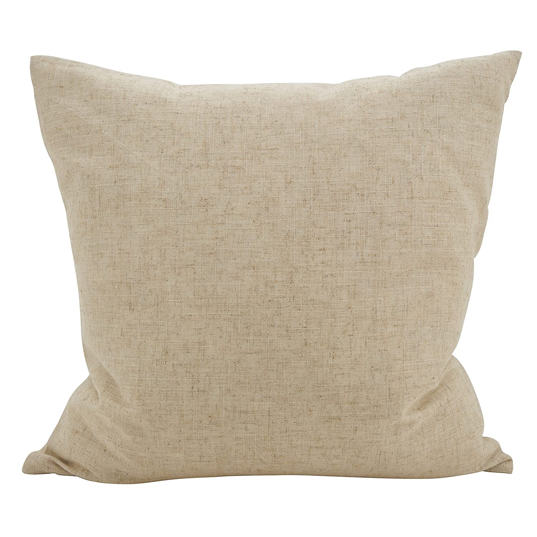 Kess InHouse Dan Sekanwagi Purple Feast Orange Abstract 23 x 23 Square Floor Pillow