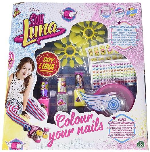4 opinioni per Giochi Preziosi- Soy Luna Set Unghie Nail Color per Bambina con Smalti ed