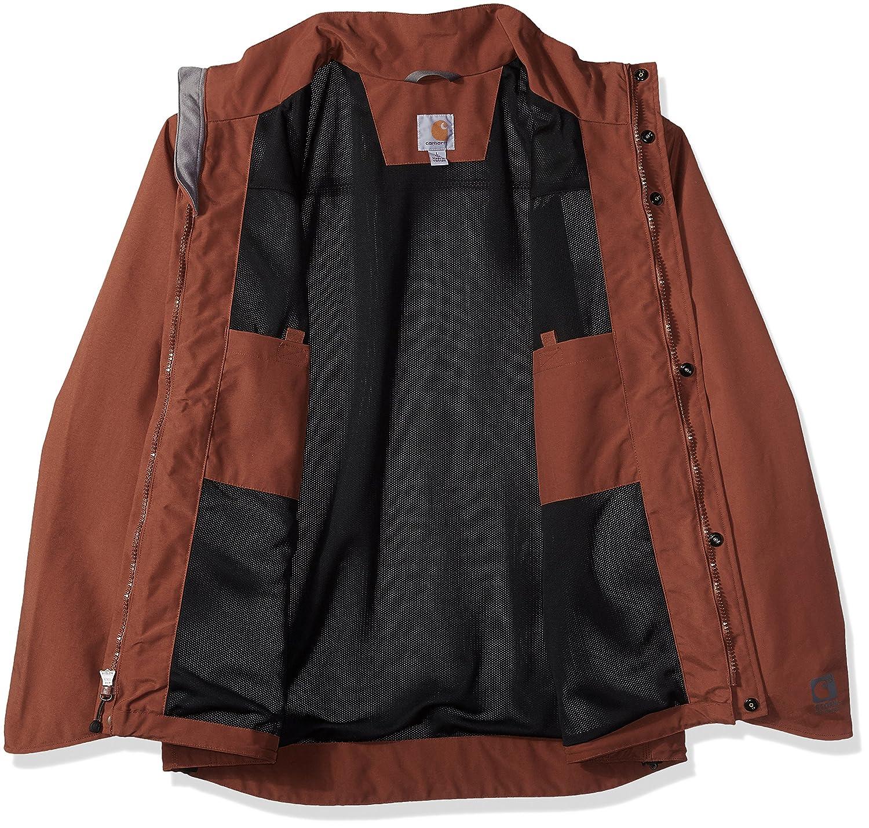 Carhartt Mens Tall Big /& Tall Shoreline Jacket Waterproof Breathable Nylon