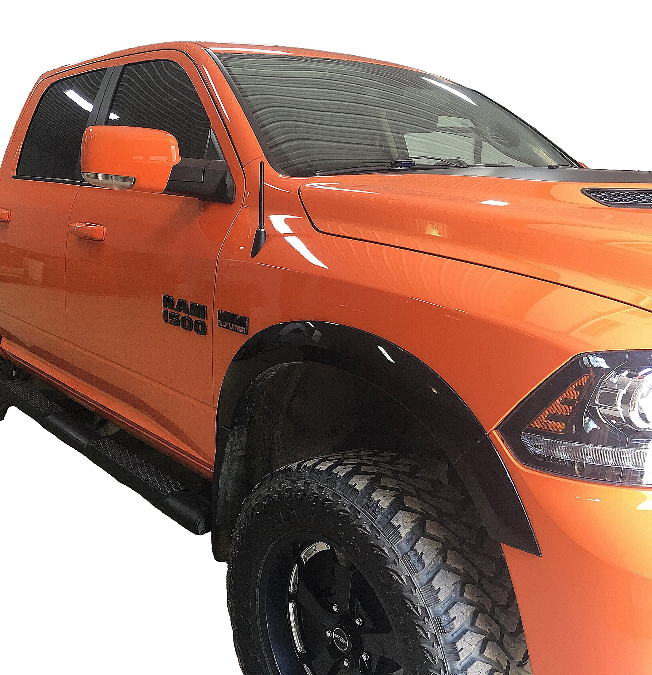 AntennaMastsRus - The Original 6 3/4 INCH Works with Dodge Ram Truck 1500 (2009-2018) - Short Rubber Antenna - Reception Guaranteed - German Engineered - Internal Copper Coil by AntennaMastsRus