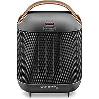 De'Longhi HFX30C18.AG Calefactor cerámico, 1800 W, Dos Niveles de Potencia, ventilación…