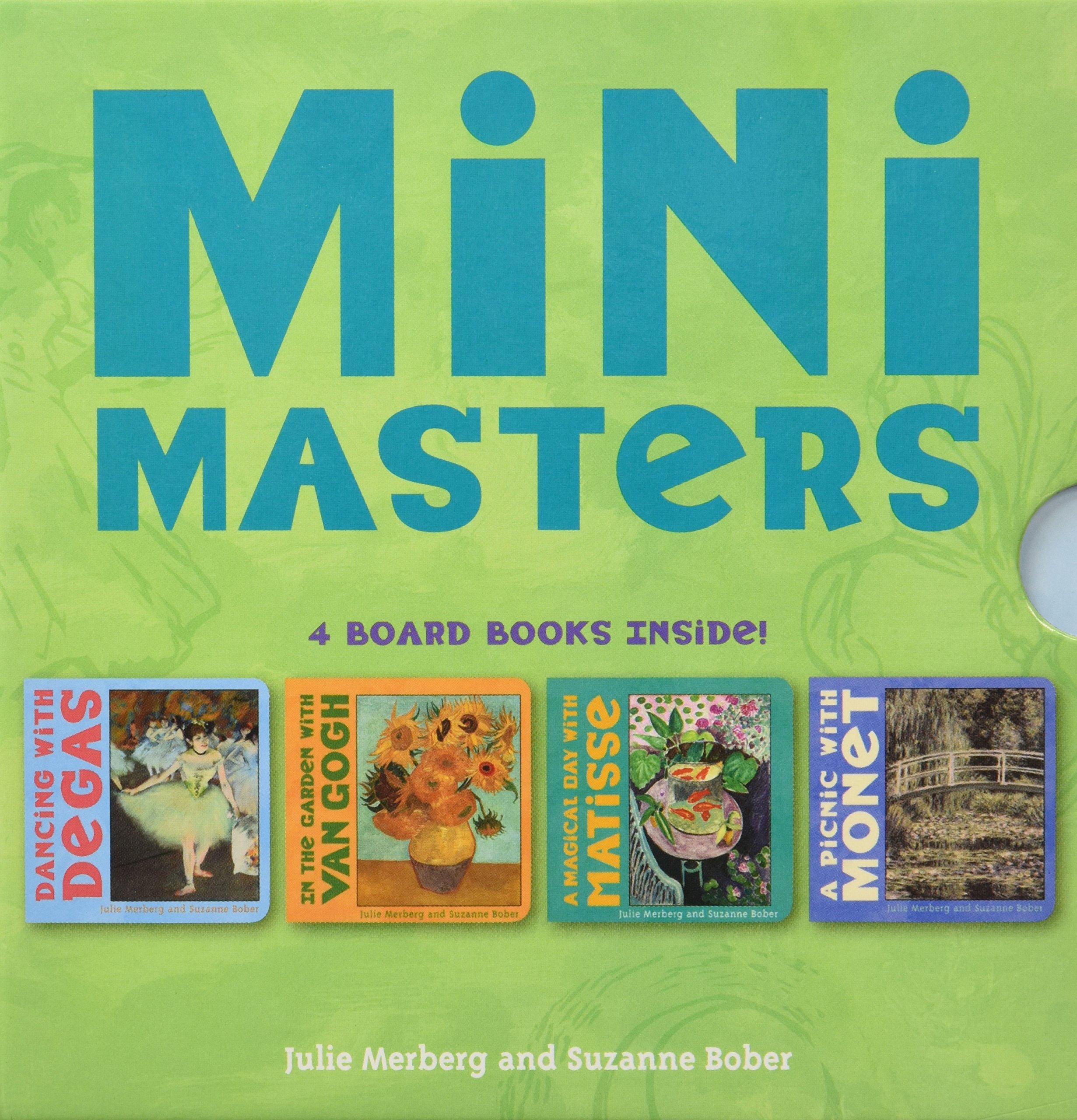 Mini Masters Boxed Set by Chronicle Books (Image #2)
