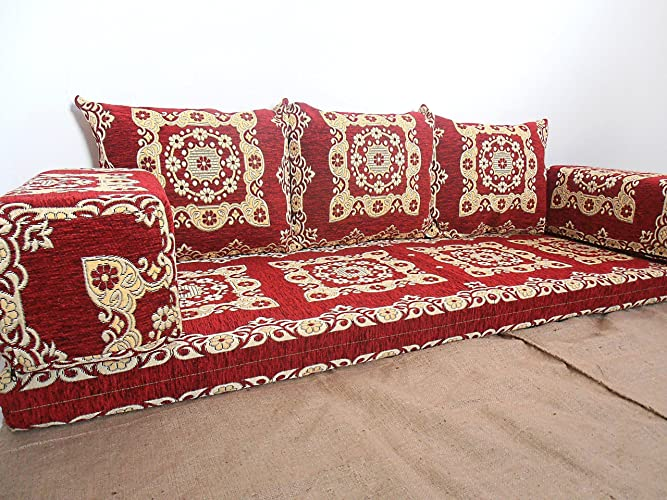 Turkish floor pillows gurus floor for Floor couch amazon