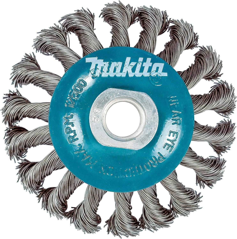 """ZORO SELECT 66252838556 Wire Wheel Brush,0.014/"""" dia Wire"""