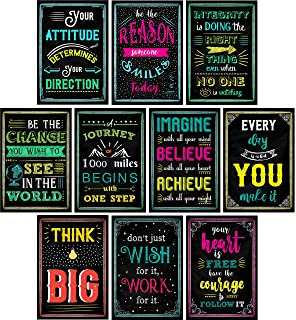 Amazon Motivational Posters Pack Of 8 Inspirational Quotes For