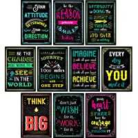 Motivational Posters for Classroom & Office Decorations | Inspirational Quote Wall...