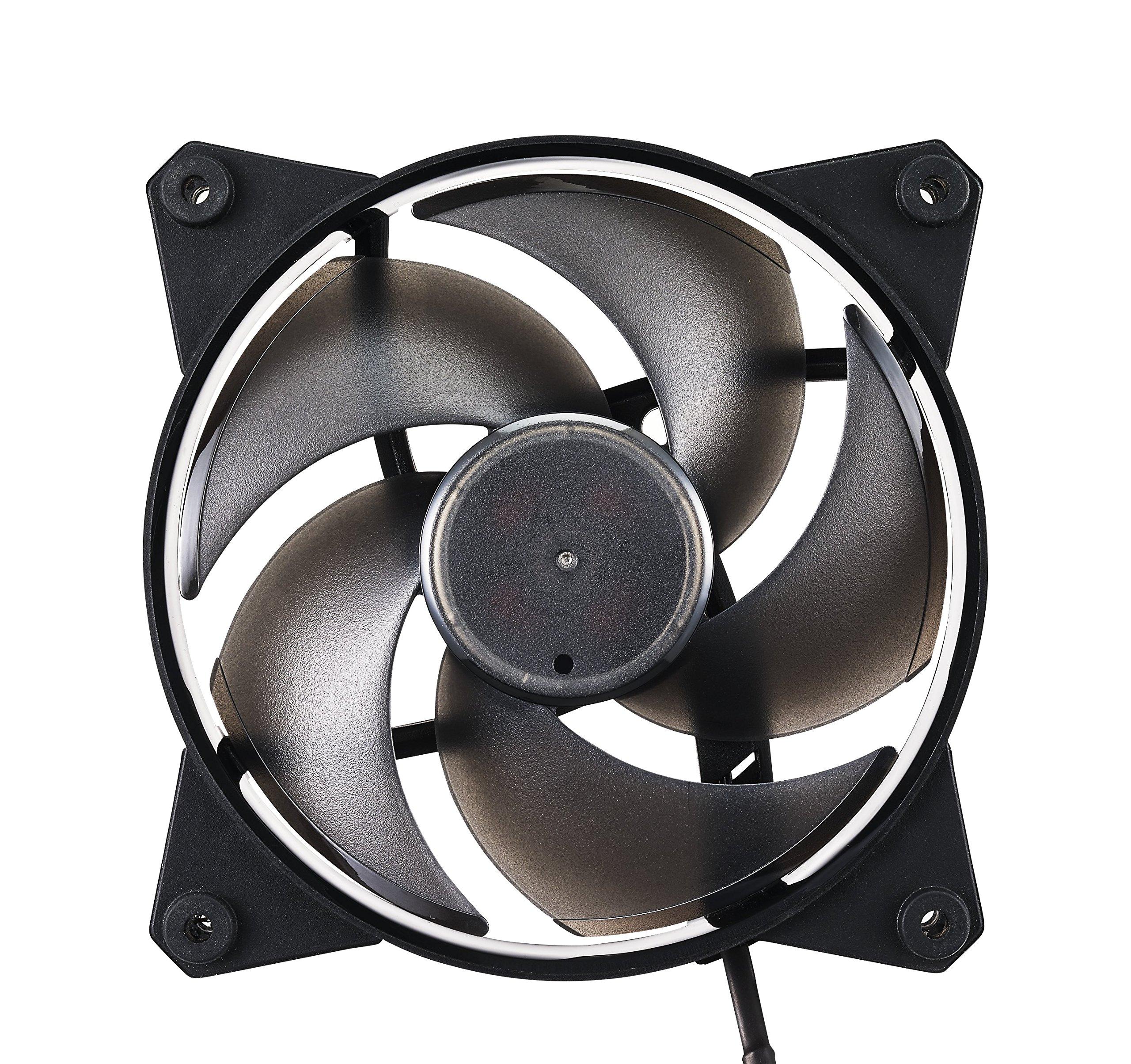 Cooler Master MasterFan Pro 120 Air Pressure- 120mm Static Pressure Black Case Fan, Computer Cases CPU Coolers and Radiators