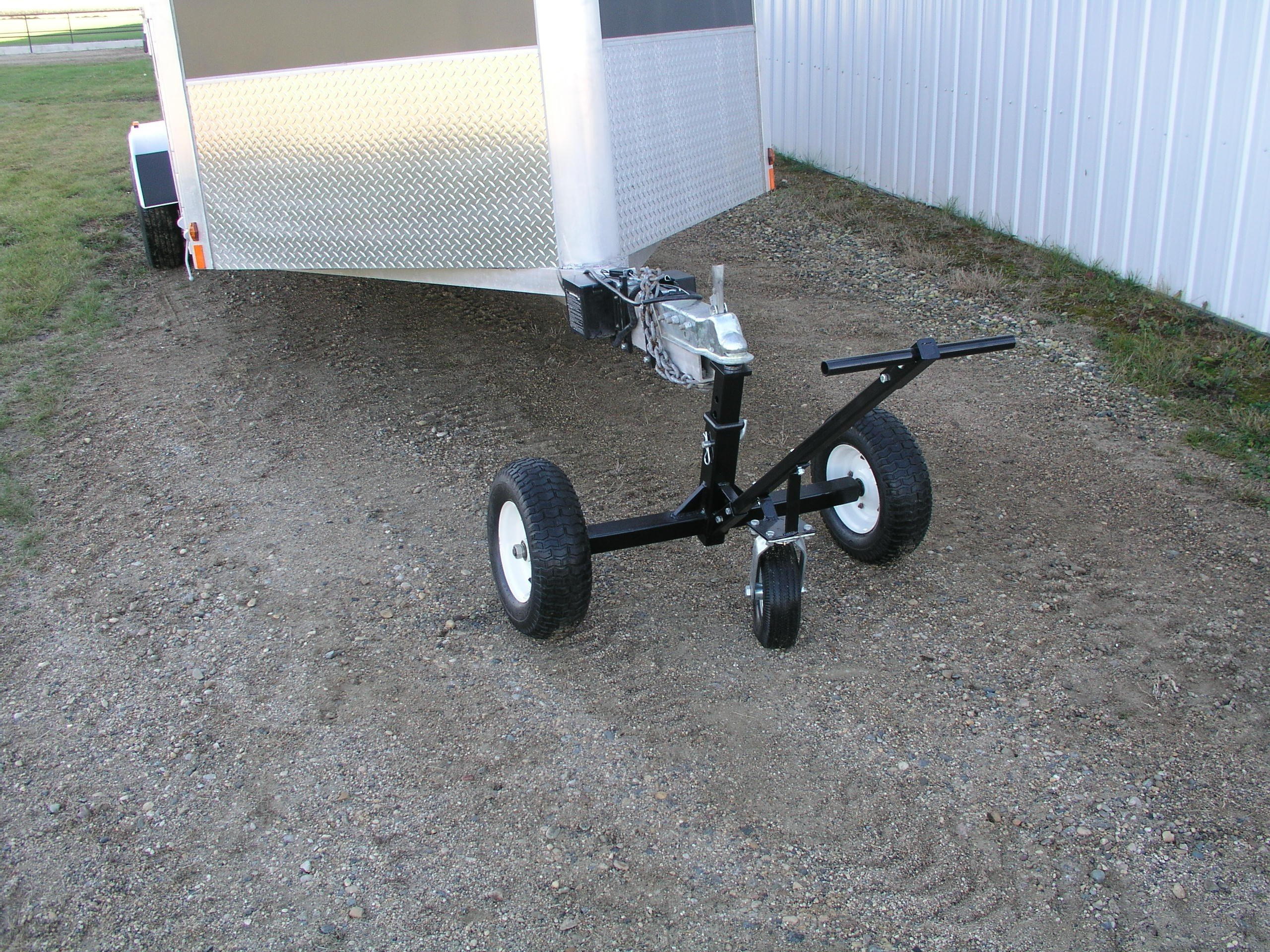 Tow Tuff HD Dolly Adjustable Trailer Moves with Caster by Tow Tuff (Image #2)