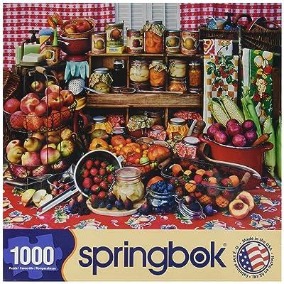 Springbok 1000 Piece Jigsaw Puzzle Pre-Serves: Toys & Games