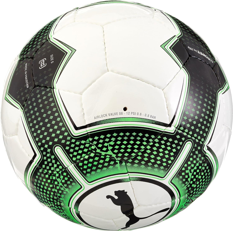 Balón de fútbol Sala Puma Evopower 1.3, en Blanco y Verde con ...