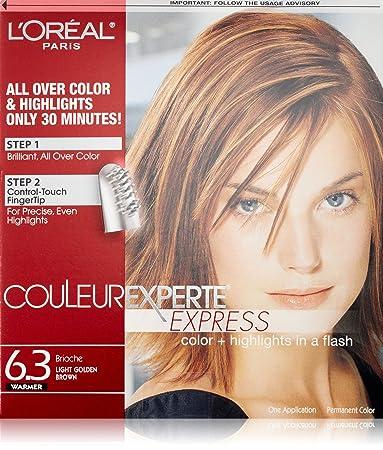 Amazon loral paris couleur experte hair color hair loral paris couleur experte hair color hair highlights light golden brown solutioingenieria Image collections