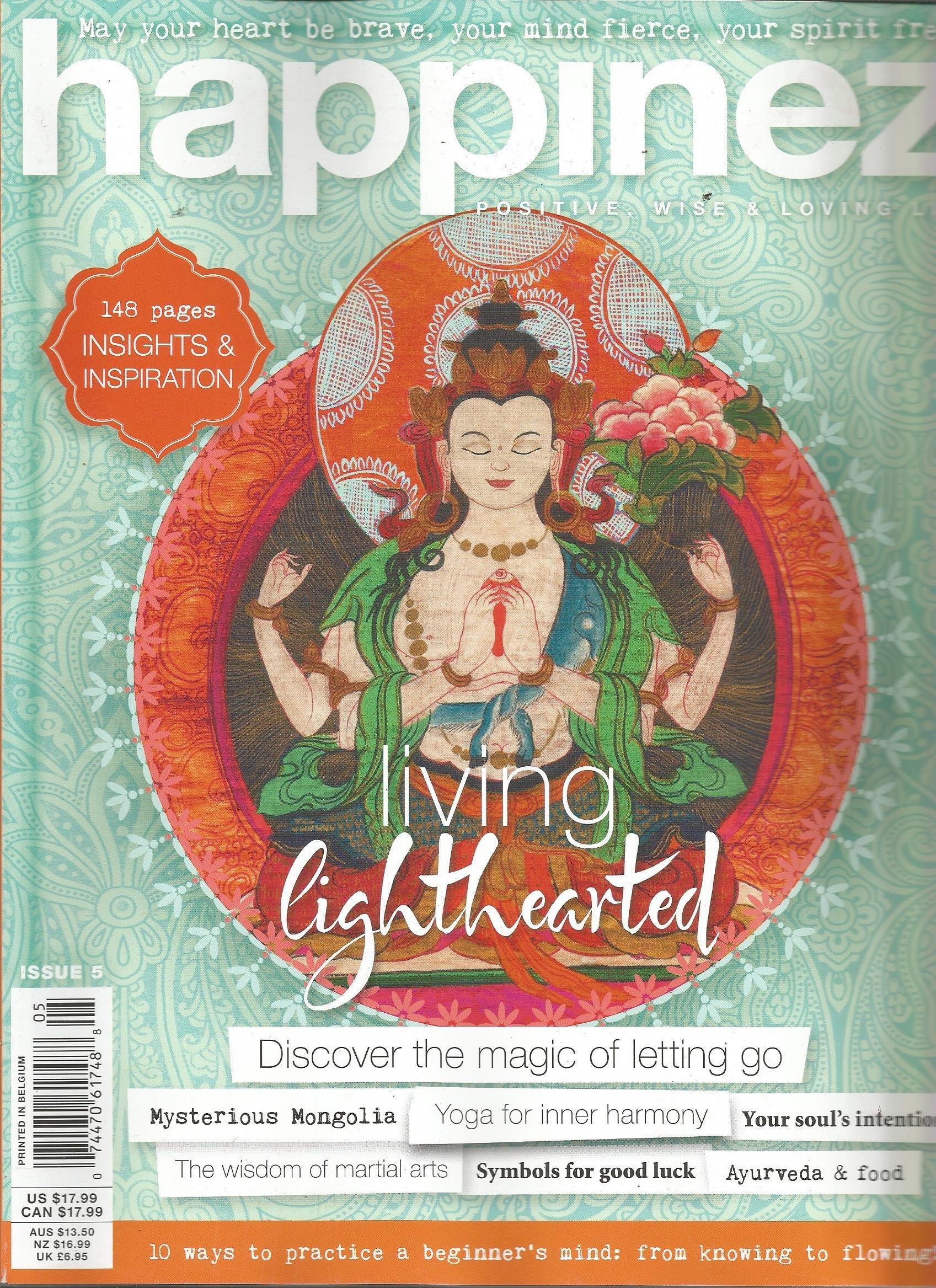 Wonderbaarlijk Happinez Magazine (Issue 5): Marije De Jong: Amazon.com: Books QB-64
