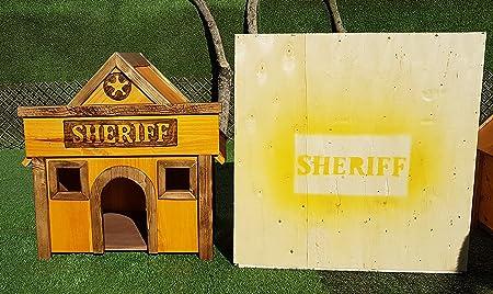 PH Caseta para mascotas madera tratada para exterior: Amazon.es: Productos para mascotas