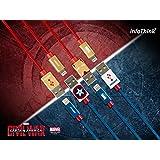 InfoThink USBケーブルMARVEL シビルウォー/キャプテンアメリカ iPhone iPad 急速充電同期ケーブル アイアンマン [並行輸入品]