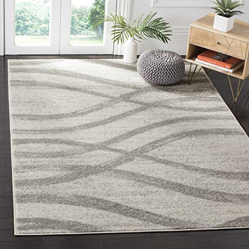 Safavieh Adirondack Collection ADR125C Cream and Grey Modern Area Rug 8 x 10
