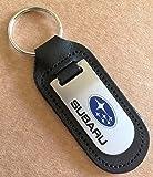 Porte-clés Subaru en cuir véritable