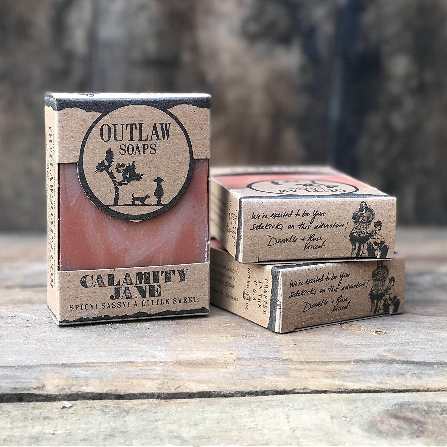 Calamity Jane Spicy Soap - 2 Pack - A Spicy Combination of Clove, Cinnamon,  Vanilla, and Orange