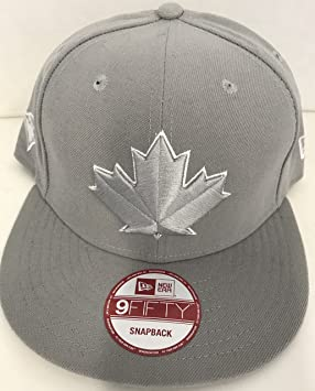 the latest d6572 4a1b3 clearance blue jays red cap detail 97361 6703c  where can i buy new era mlb toronto  blue jay maple leaf gray flat brim snapback