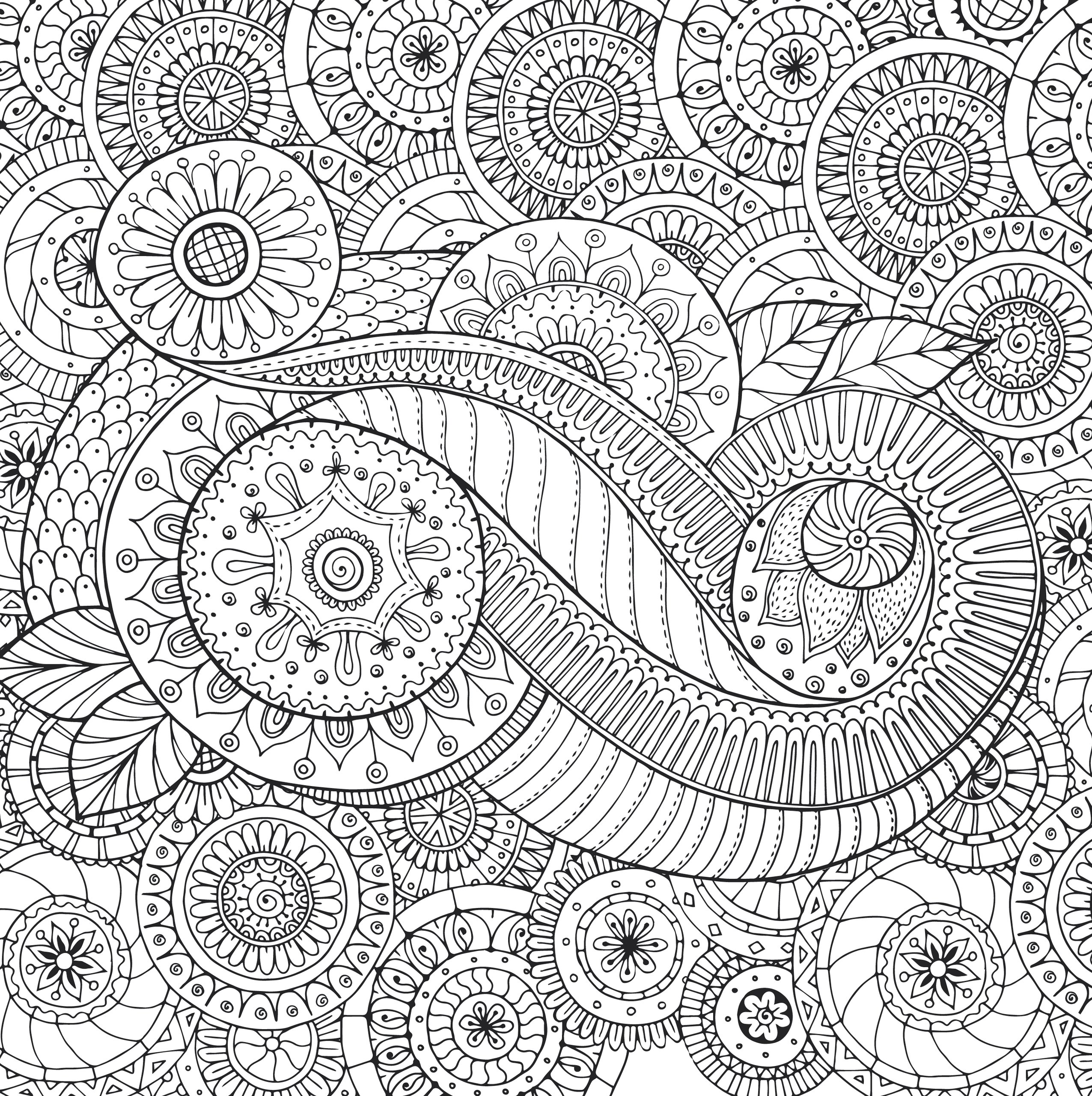 Peaceful Paisleys Adult Coloring Book (31 stress-relieving designs ...