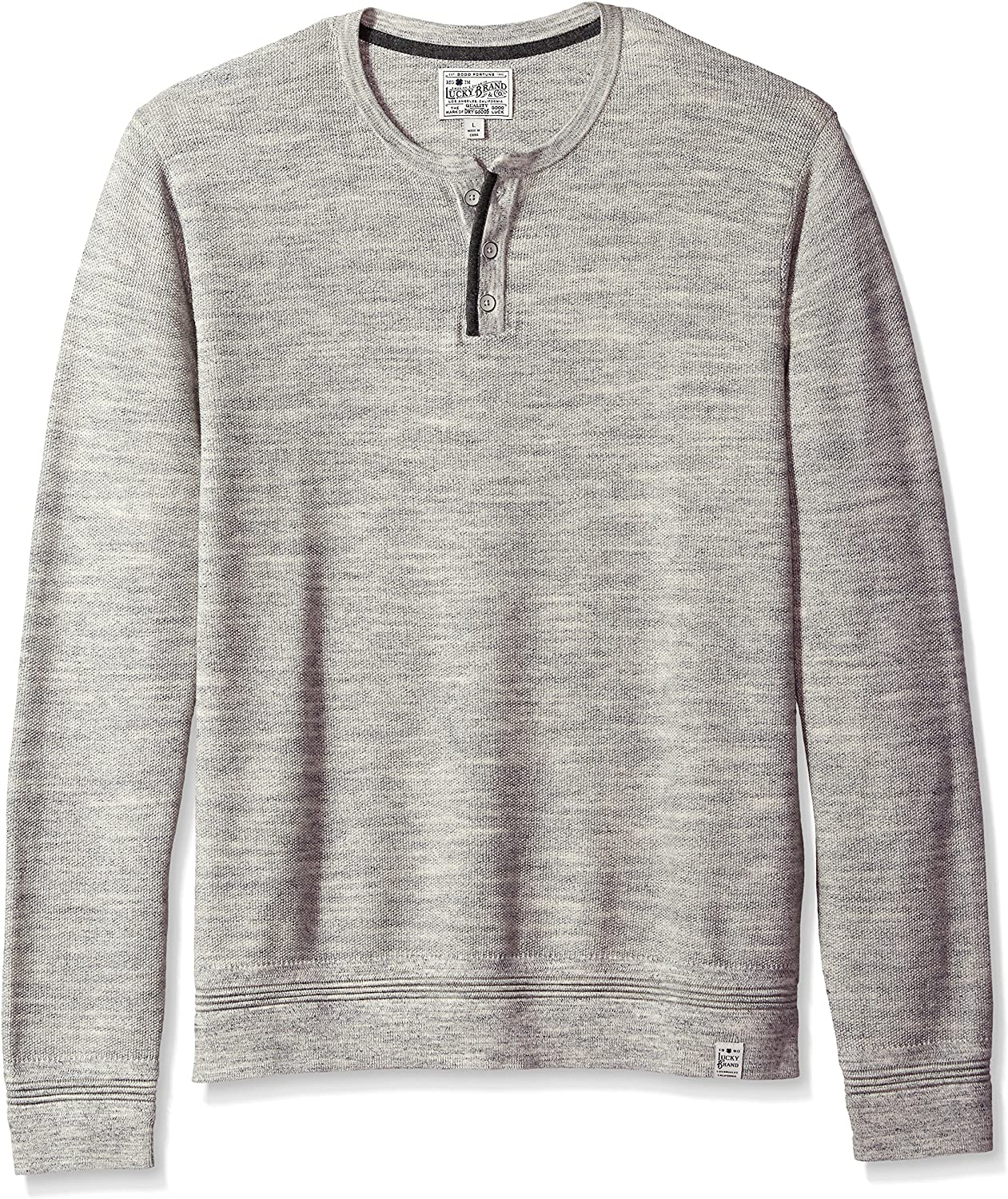 Lucky Brand Mens Welter Weight V-Neck Pullover Sweater