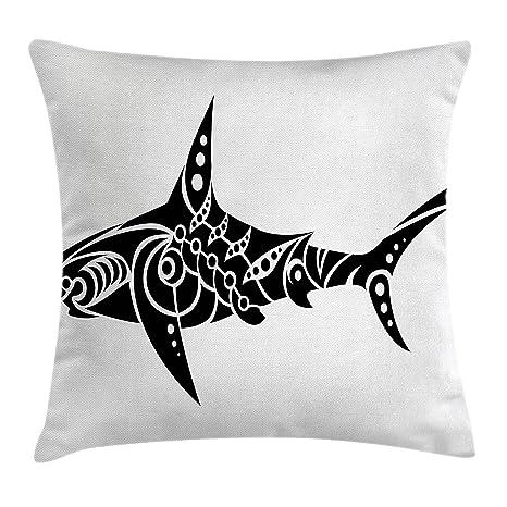 8b3f0a7b6c26 Amazon.com  Lunarable Tribal Throw Pillow Cushion Cover
