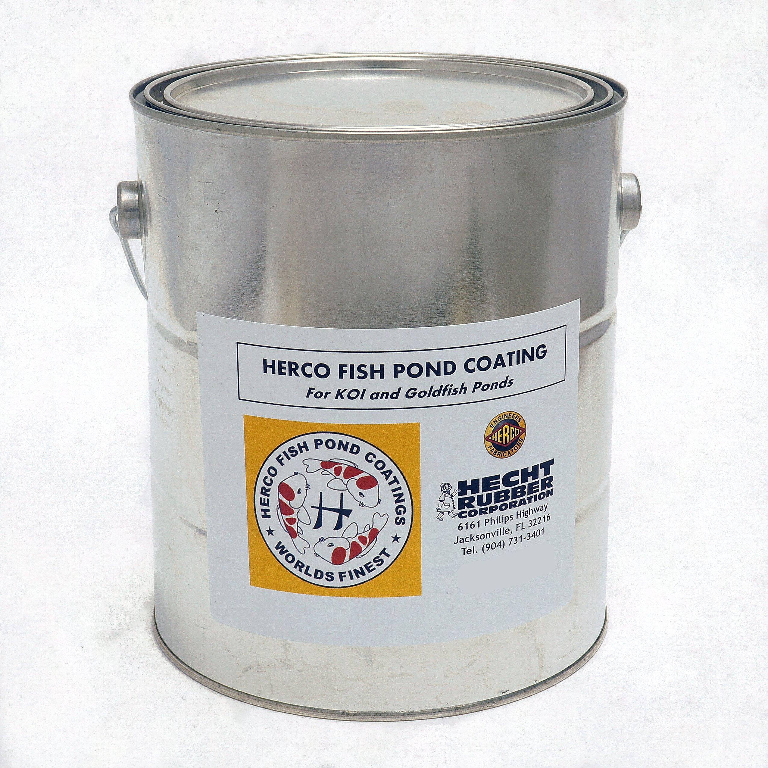 Herco H-55 Pond Coating - One Gallon - Black