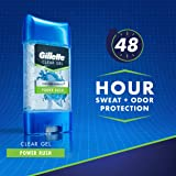 Gillette Power Rush Clear Gel Men's Antiperspirant