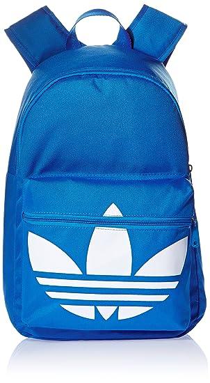 6cec25e032b3 Adidas Originals Backpacks - Adidas Originals Trefoil Backpack - Bluebird  White