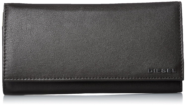 (ディーゼル) DIESELメンズ 二つ折り 財布 FRESH STARTER 24 A DAY wallet B01N106GX8ブラック/ブルー UNI(FREE サイズ)