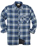 Backpacker Men's Flannel/Quilt Lined Shirt Jacket