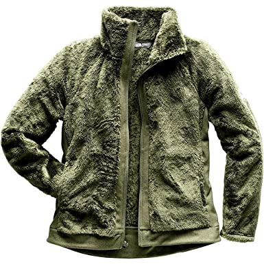 The North Face Women S Furry Fleece Full Zip Jacket Burnt Olive