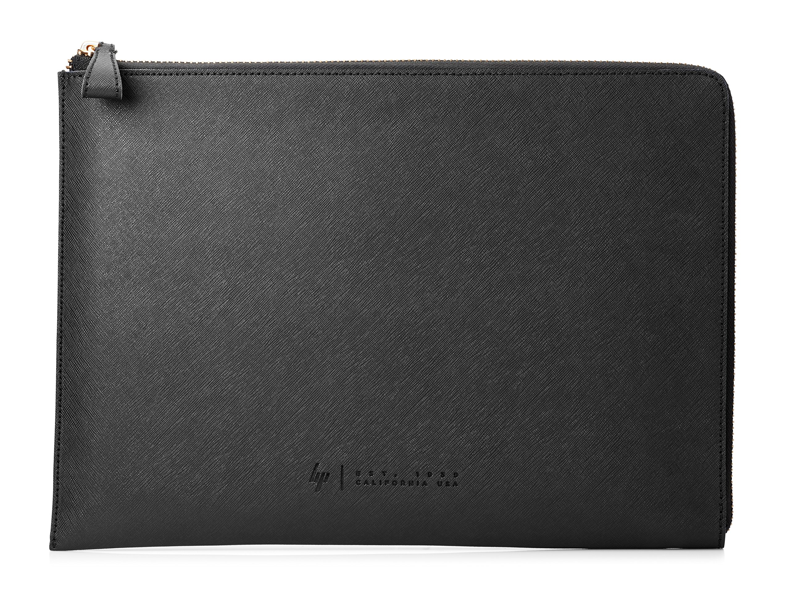 HP Spectre 13-inch Laptop Leather Sleeve (Dark Ash Silver with Copper-Finished Hardware)