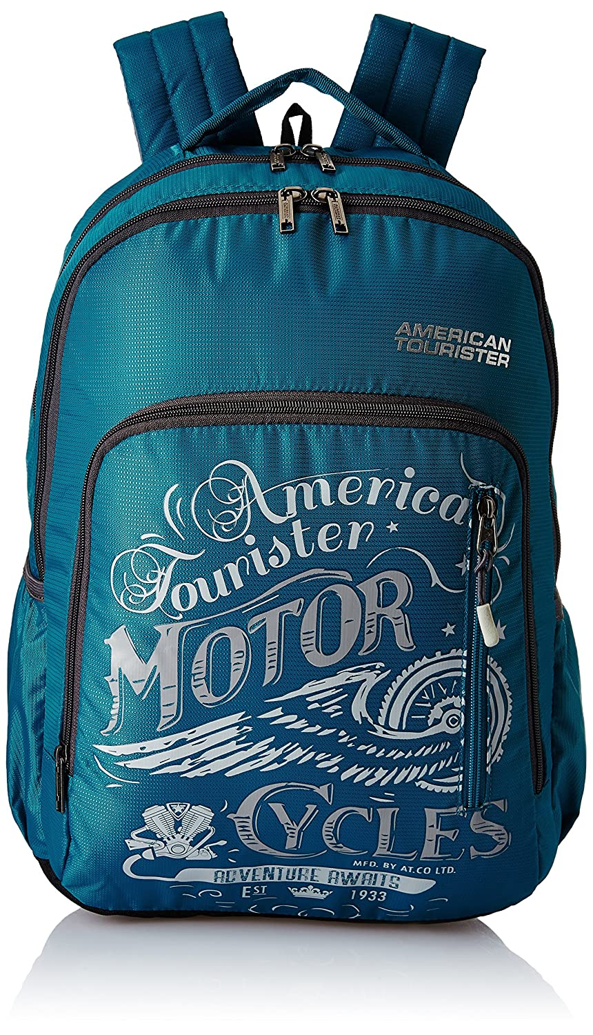 American Tourister 27 Ltrs Teal Casual Backpack (AMT Boom Backpack 01 - Teal)