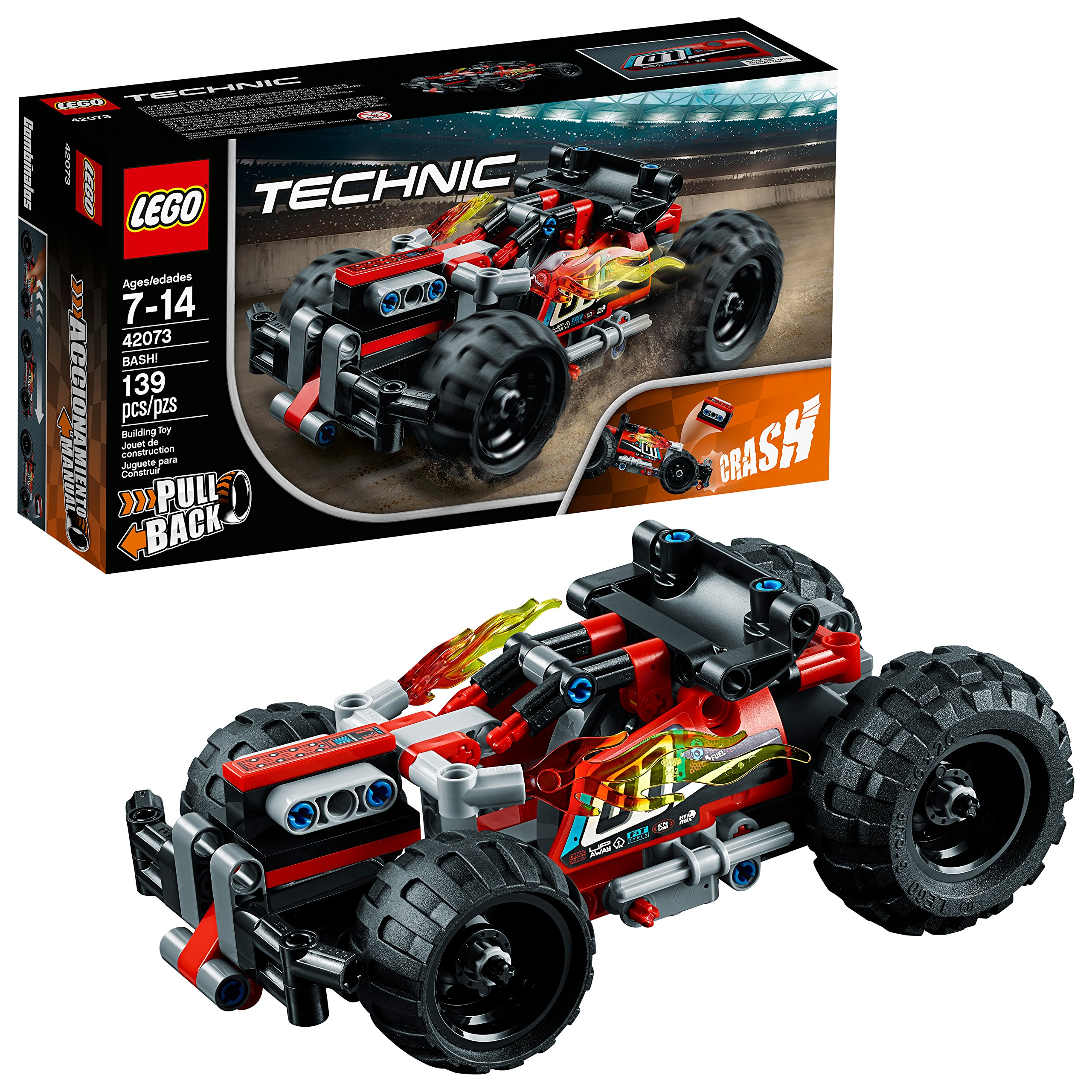 LEGO Technic BASH! 42073 Building Kit (139 Pieces) by LEGO