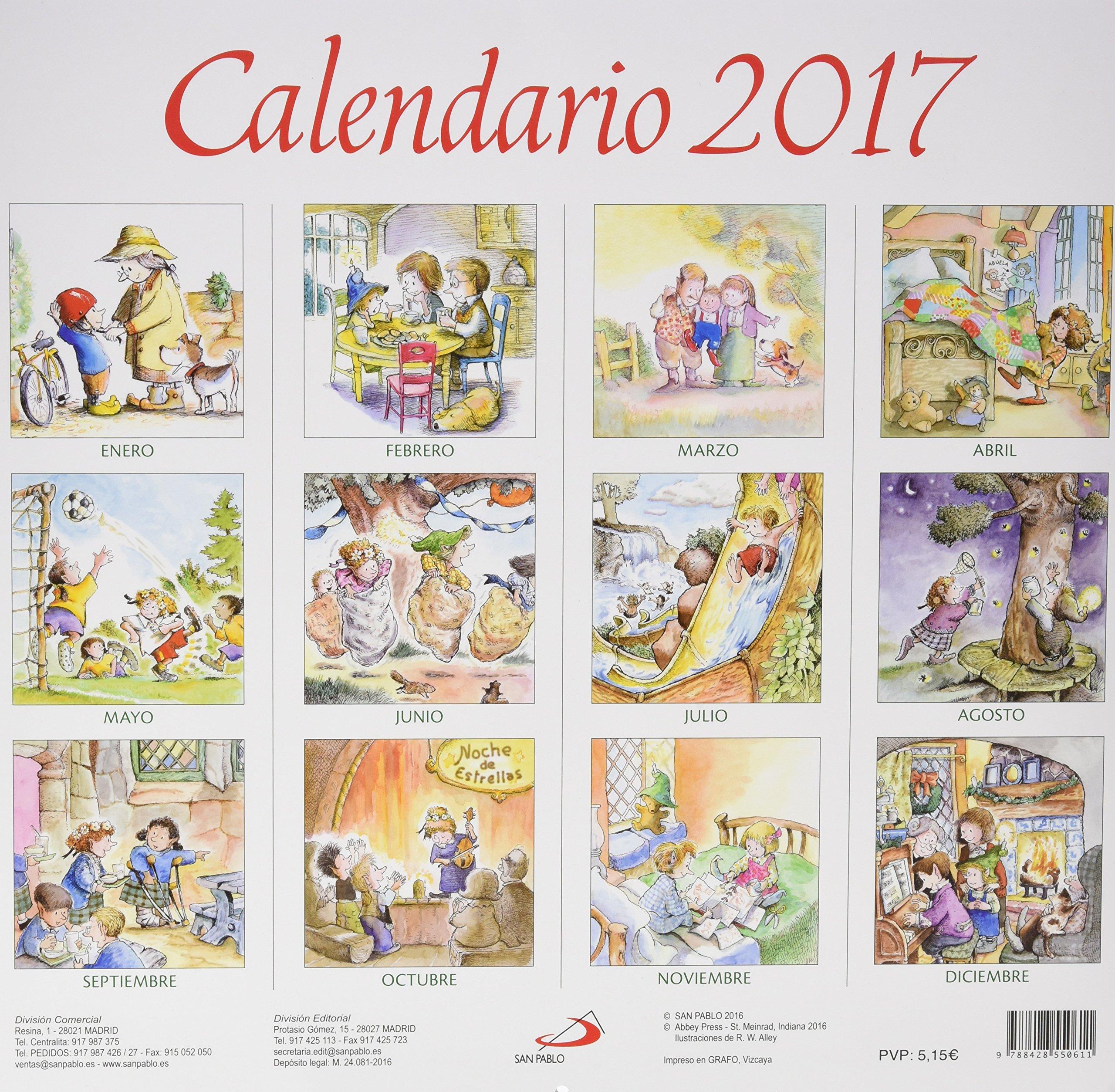 Calendario Un consejo para cada mes 2017 Calendarios y Agendas: Amazon.es: Equipo San Pablo: Libros