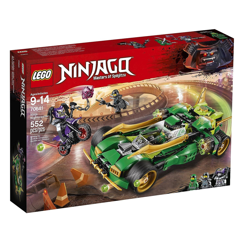 Amazoncom Lego Ninjago Ninja Nightcrawler 70641 Building Kit 552