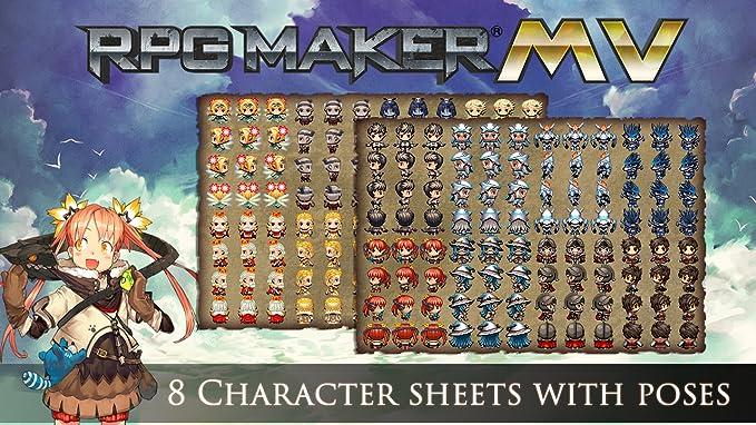 RPG Maker MV DLC: Cover Art Characters Pack [Online Code]