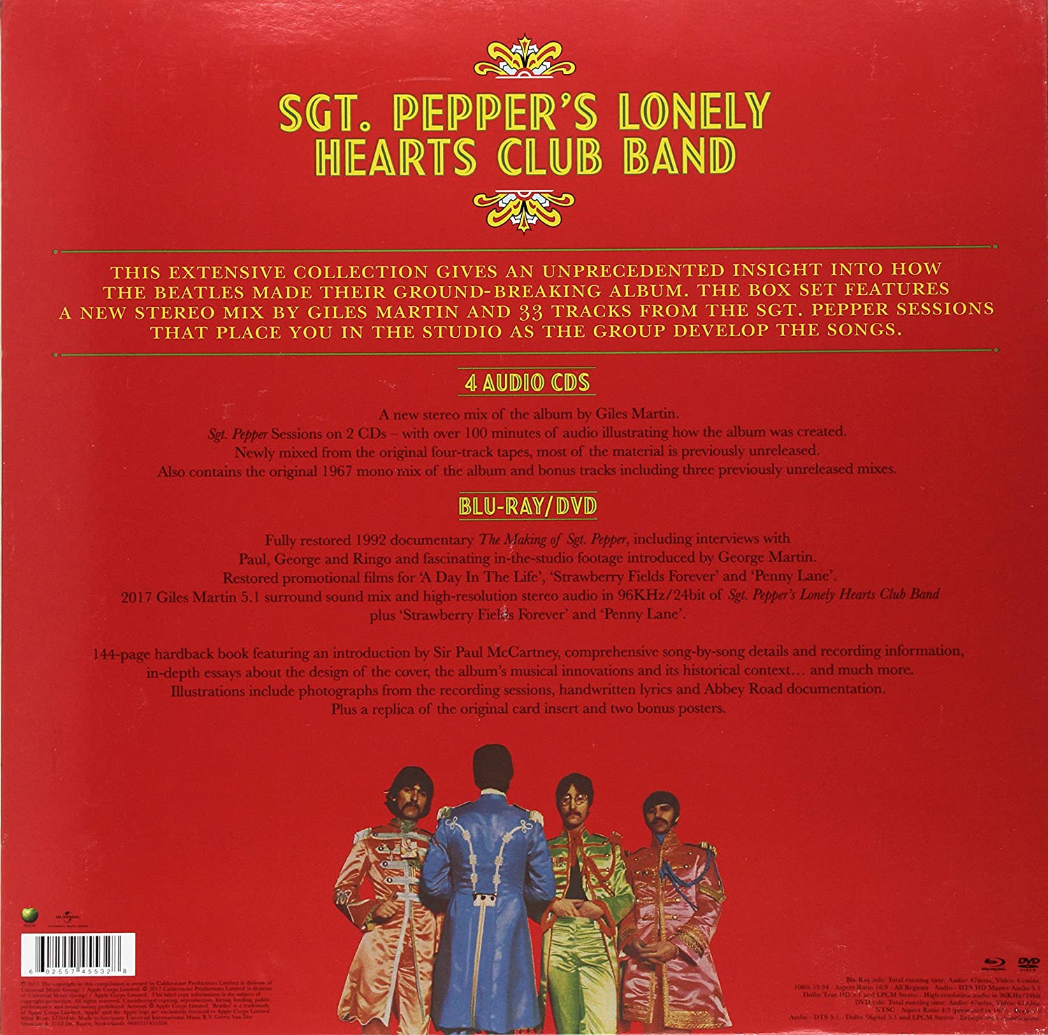 The Beatles Sgt Pepper S Lonely Hearts Club Ba Amazon Nl