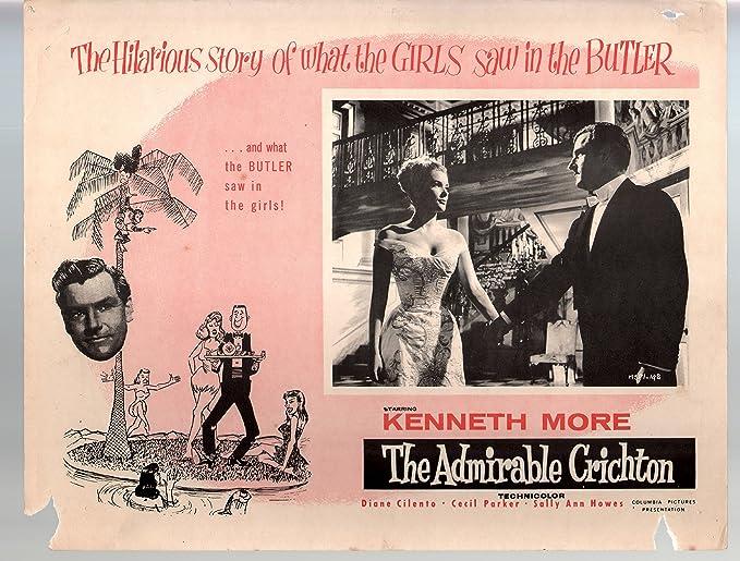 Amazon.com: MOVIE POSTER: Admirable Crichton-Kenneth More-11x14 ...