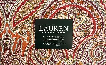 Lauren Ralph Lauren Bettwasche 3 Teiliges Bettbezug Set Paisley