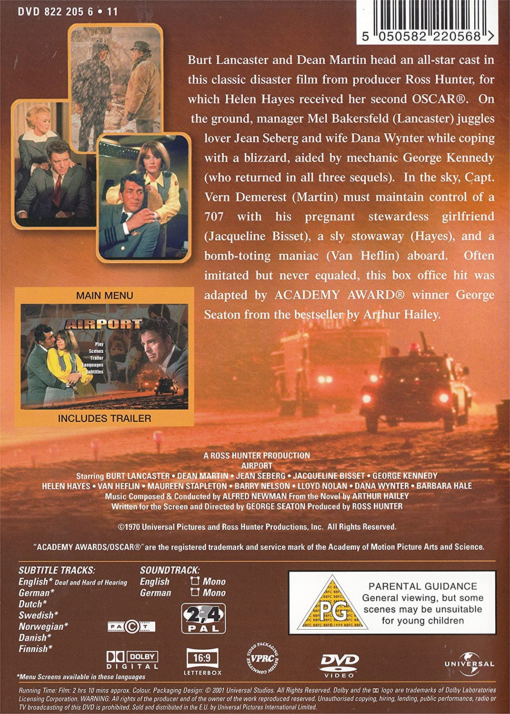 Airport [Reino Unido] [DVD]: Amazon.es: Burt Lancaster, Dean ...