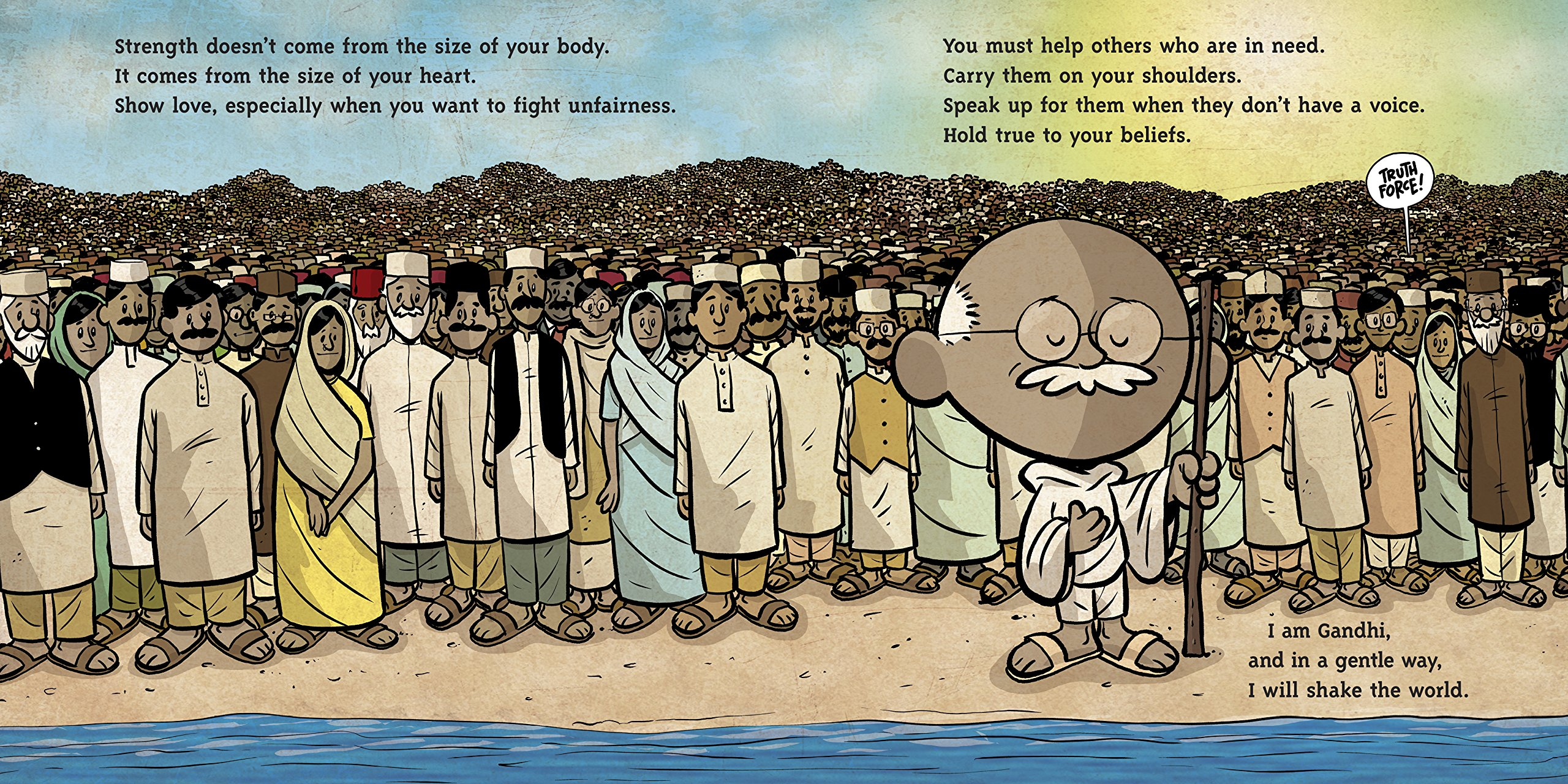 I am Gandhi (Ordinary People Change the World) by Dial Books (Image #4)