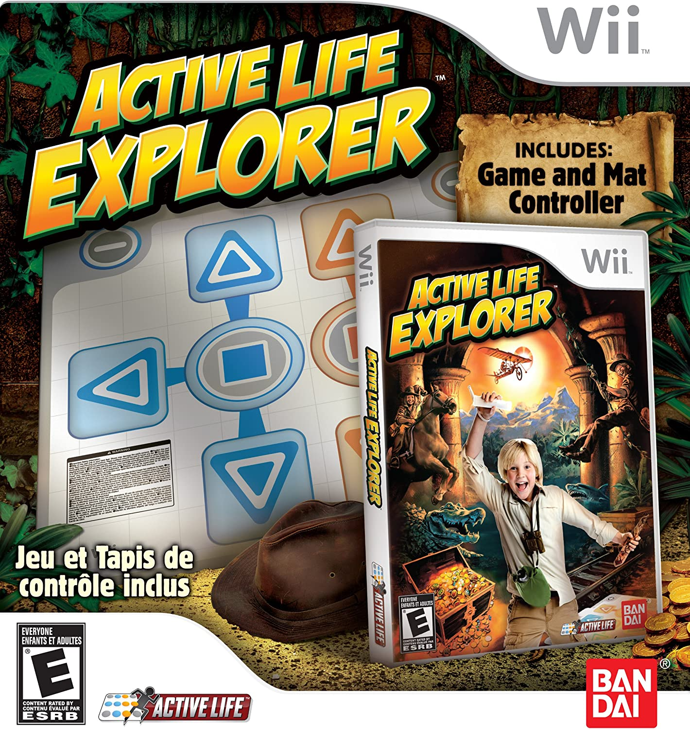Amazon com: Active Life: Explorer With Mat - Nintendo Wii
